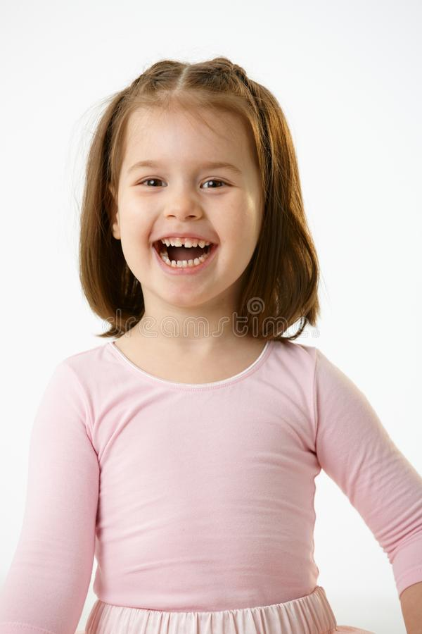 Download Portrait Of Laughing Little Girl Stock Photo - Image: 23095700