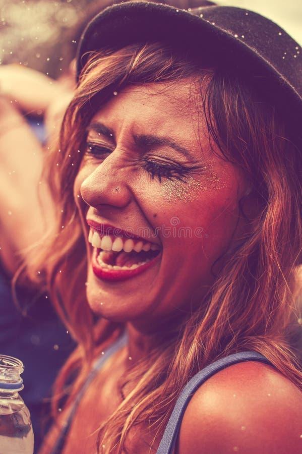 Portrait Of Laughing Woman Free Public Domain Cc0 Image