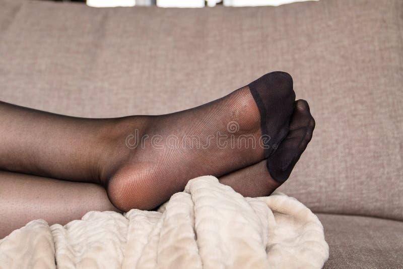 Black women in pantyhose 126 Feet Sexy Woman Black Nylon Stockings Photos Free Royalty Free Stock Photos From Dreamstime