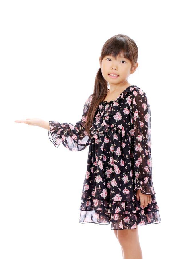 Portrait Of Little Asian Girl Stock Photos