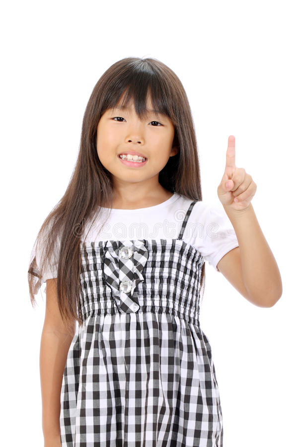 Download Portrait Of Little Asian Girl Stock Photography - Image: 27668332
