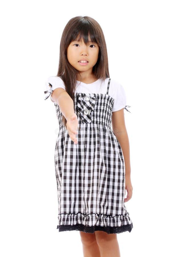 Portrait Of Little Asian Girl Stock Image
