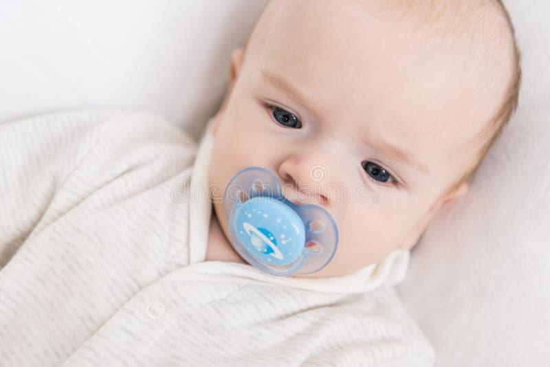Portrait of little baby stock image