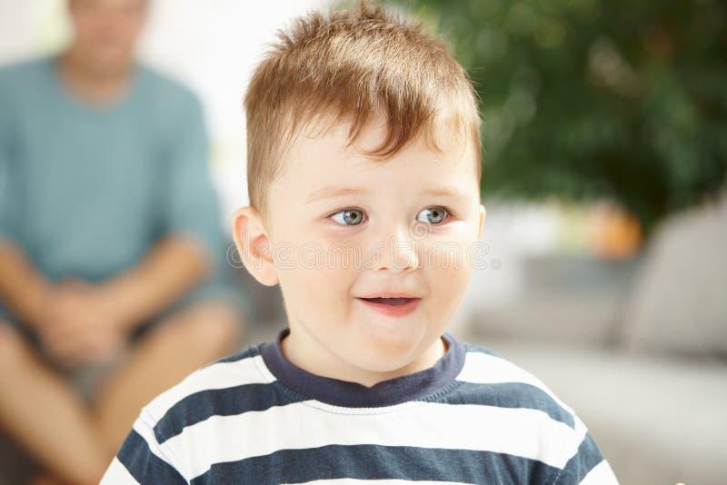 Portrait of little boy stock image