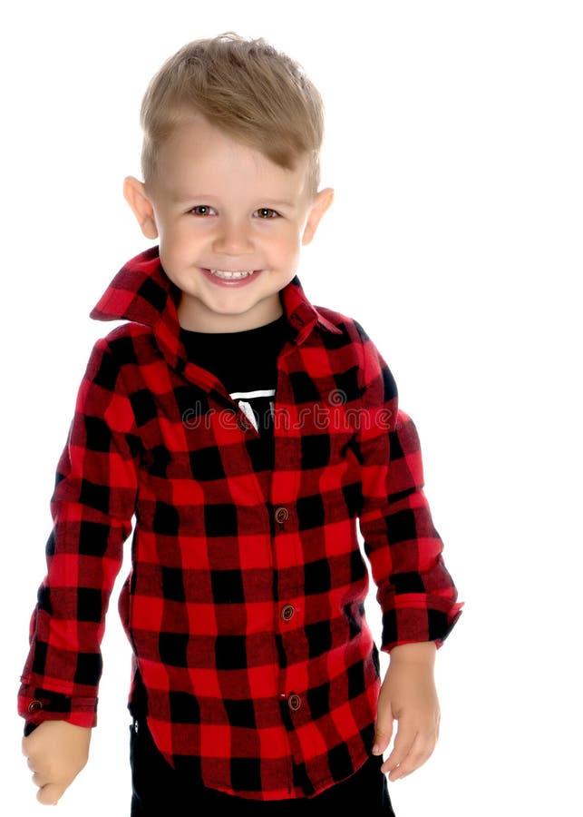 Portrait of a little boy close-up. stock photos