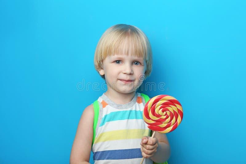 Portrait of little boy stock photos