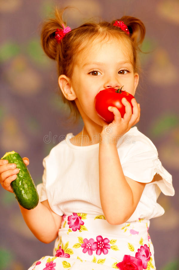 Download Portrait of little girl stock photo. Image of girls, female - 10069932