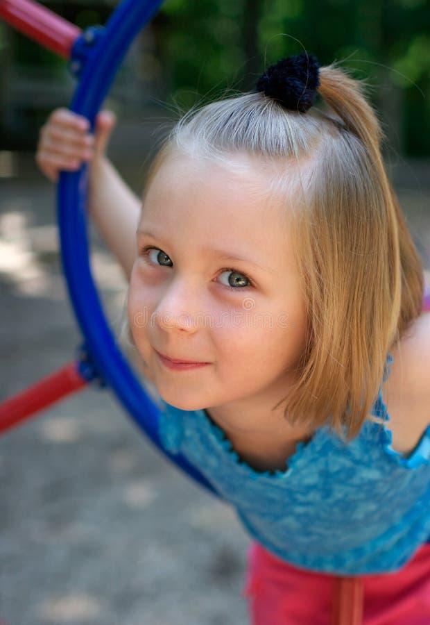 Portrait of little girl royalty free stock image