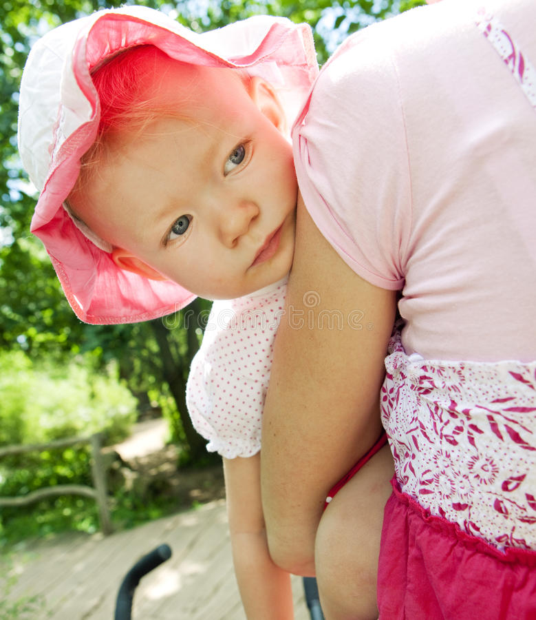 Download Portrait of little girl stock photo. Image of hats, feeling - 13081474