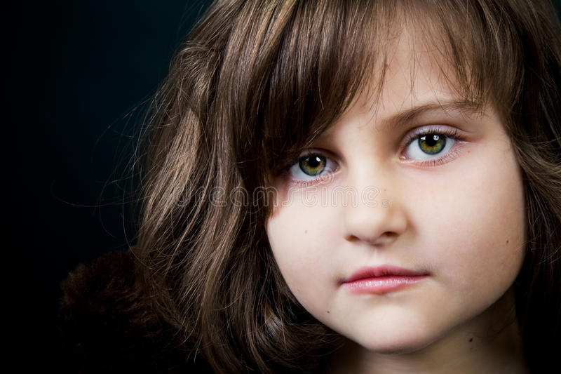 Download Portrait of a little girl stock image. Image of beauty - 13525391