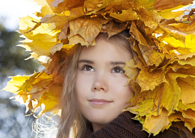Download Portrait of little girl stock image. Image of beauty - 34471817