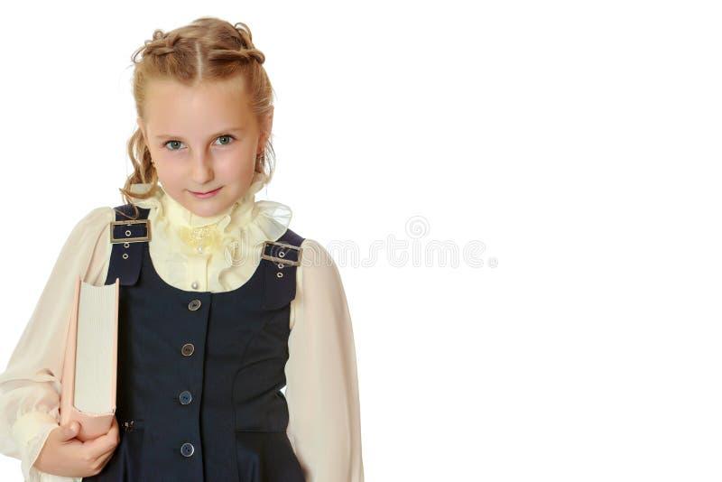 Portrait of a little girl close-up. stock photos