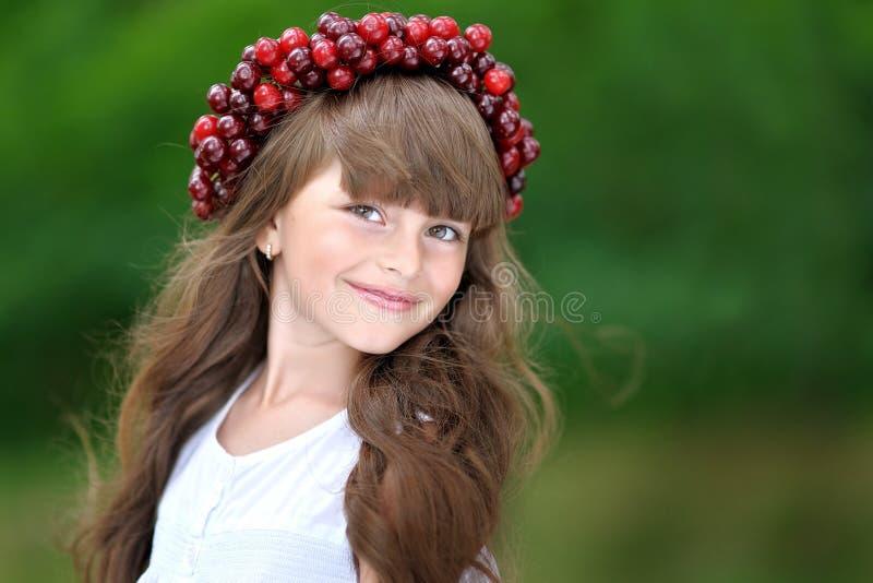Portrait of little girl stock images