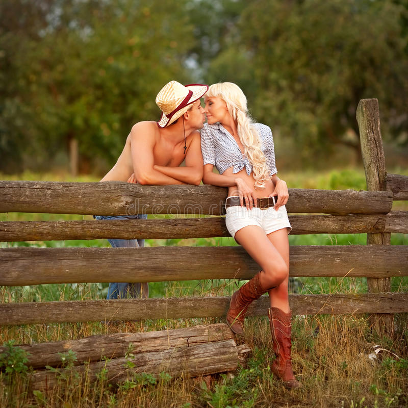 Download Portrait of love couple stock image. Image of together - 17260837