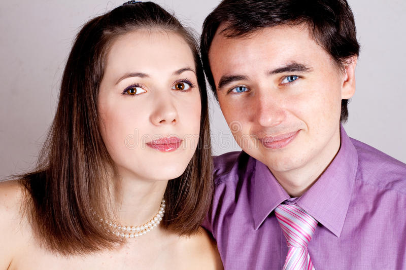 Download Portrait of lovers stock photo. Image of beauty, people - 17408240