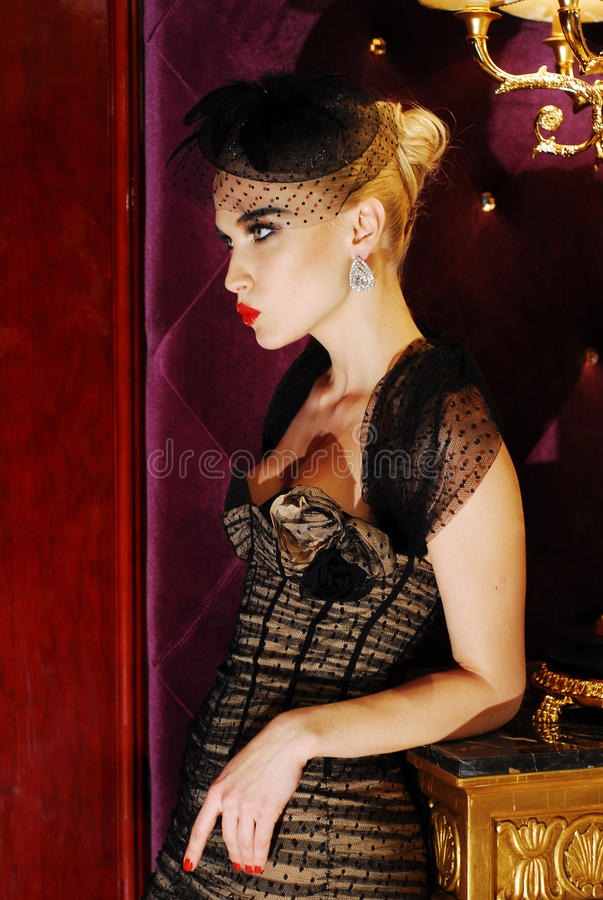 Download Portrait Of A Luxurious Glamorous Model Stock Photo - Image: 17402466