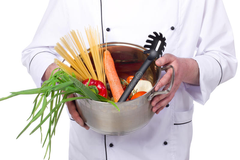 Portrait Male Chef Royalty Free Stock Image