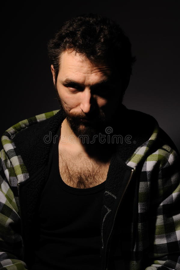 Download Portrait of man. stock photo. Image of pose, male, model - 17418264