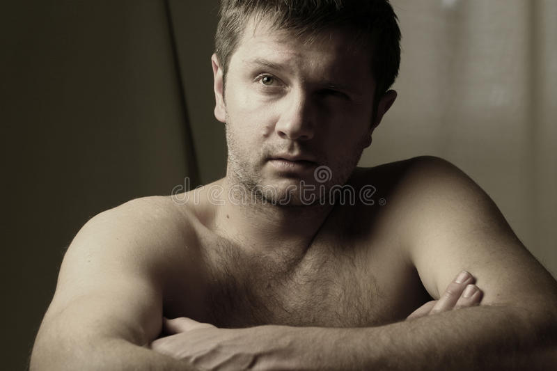 Download Portrait of man stock image. Image of thoughtful, face - 17946297