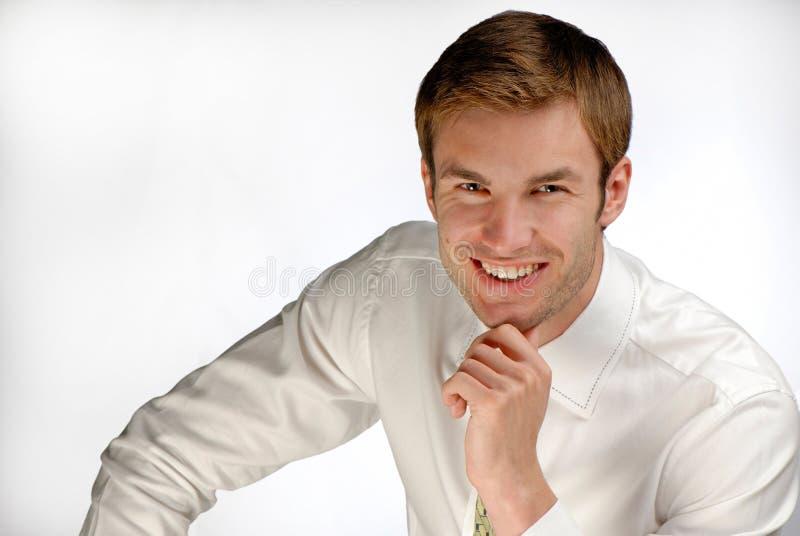 Portrait man royalty free stock photo