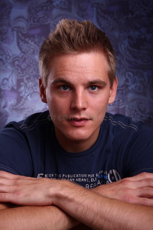Portrait of a man stock images
