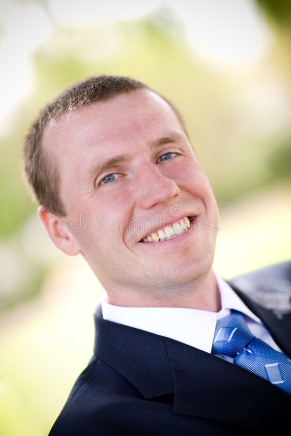 Portrait of the man royalty free stock photos
