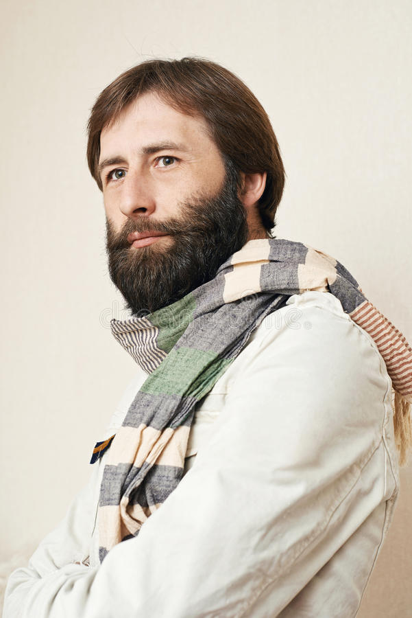 Download Portrait Of The Man With A Big Beard And Mustaches Stock Photo - Image: 29530922