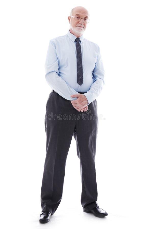 Portrait of mature business man stock photos