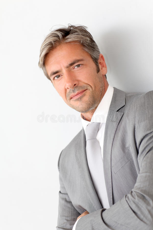 Download Portrait Of Mature Businessman Stock Image - Image: 21688739