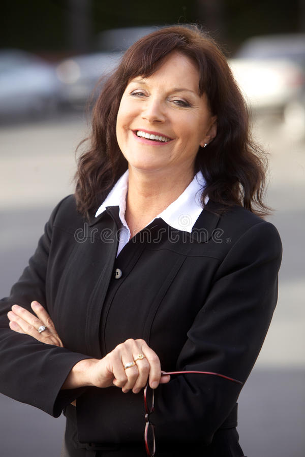 Download Portrait Of A Mature Businesswoman Stock Image - Image: 13253995