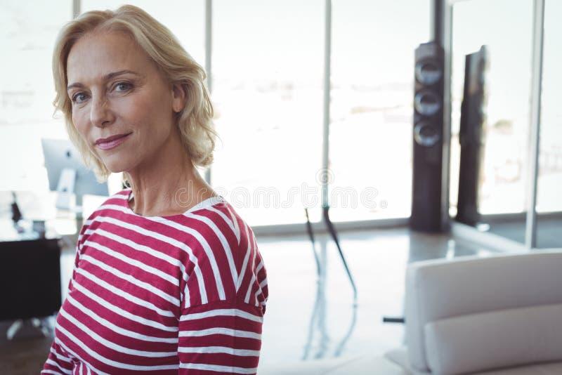 Portrait of mature businesswomen royalty free stock image