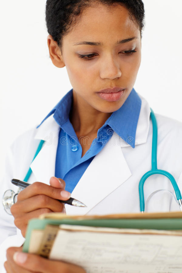 Portrait of medical professional stock images