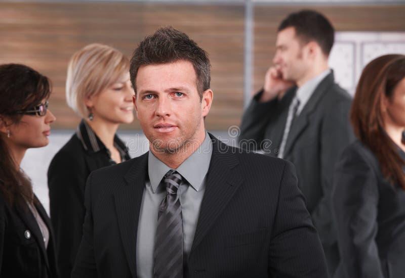 Portrait of mid-adult businessman