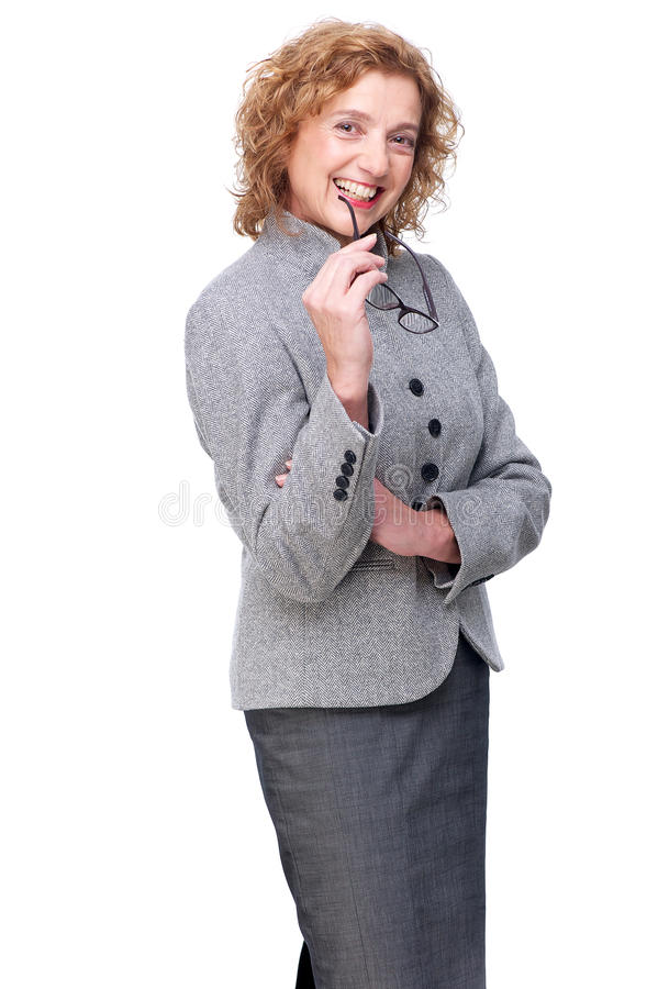 Download Portrait Of A Middle Aged Business Woman Stock Image - Image of adult, elegant: 27808071