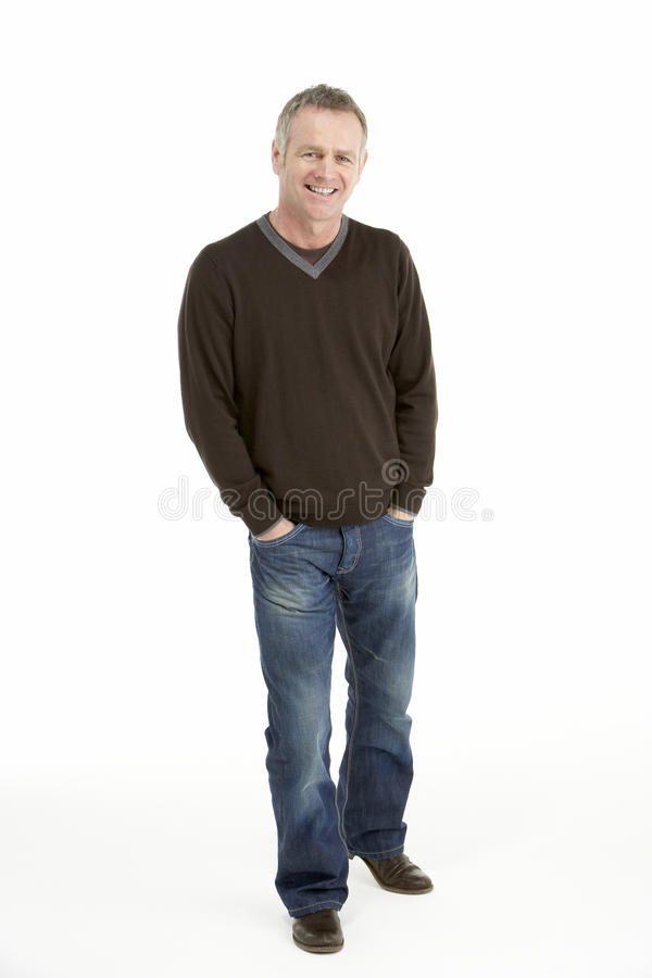 Portrait Of Middle Aged Man Stock Photography