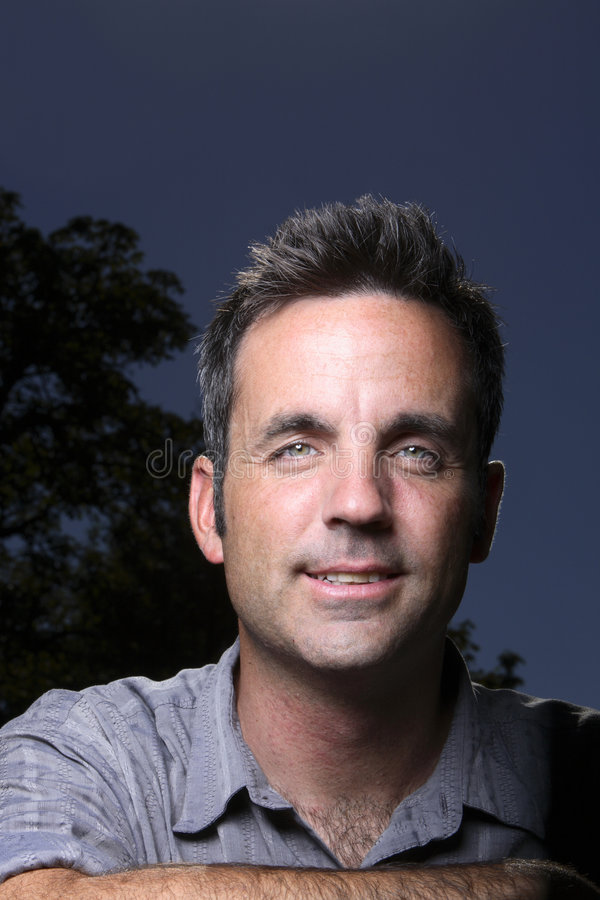 Download Portrait Of A Middle Aged Man Stock Image - Image: 3252095