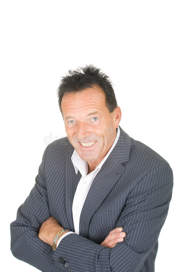 Download Portrait Of A Middle Aged Smiling Man Stock Photo - Image: 8167622