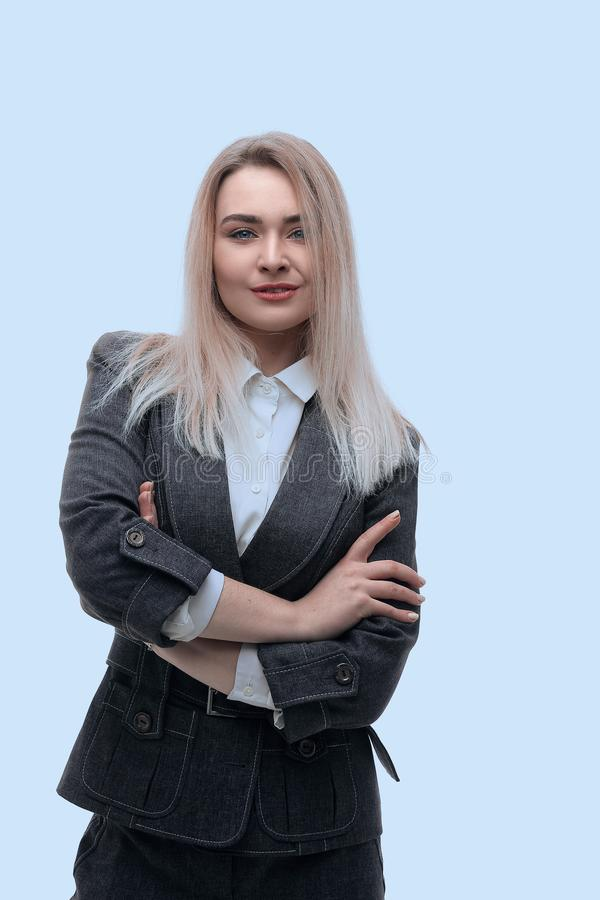 Portrait of modern business woman.i stock image