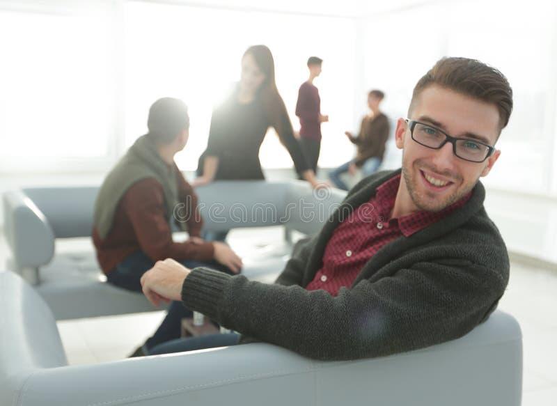 Portrait of a modern confident men stock photo