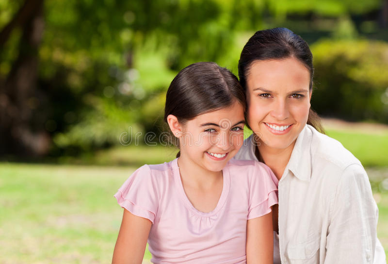 Download Portrait Of A Mother And Her Daughter Stock Photo - Image: 18820080