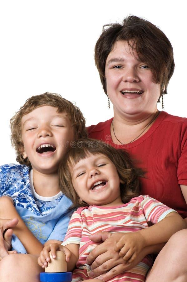 Portrait mothers with children