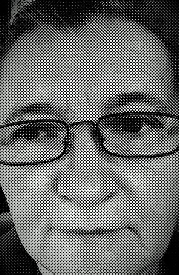portrait of myself royalty free stock photos