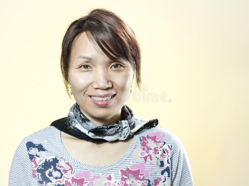 Portrait occasionnel de femme coréenne. photos stock