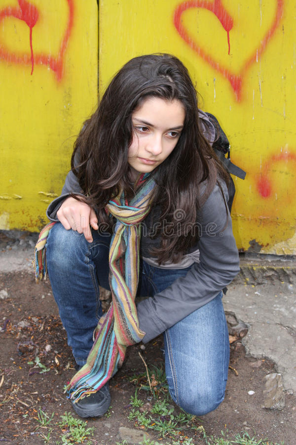 Free Portrait Of A Beautiful Teen Stock Images - 13952464