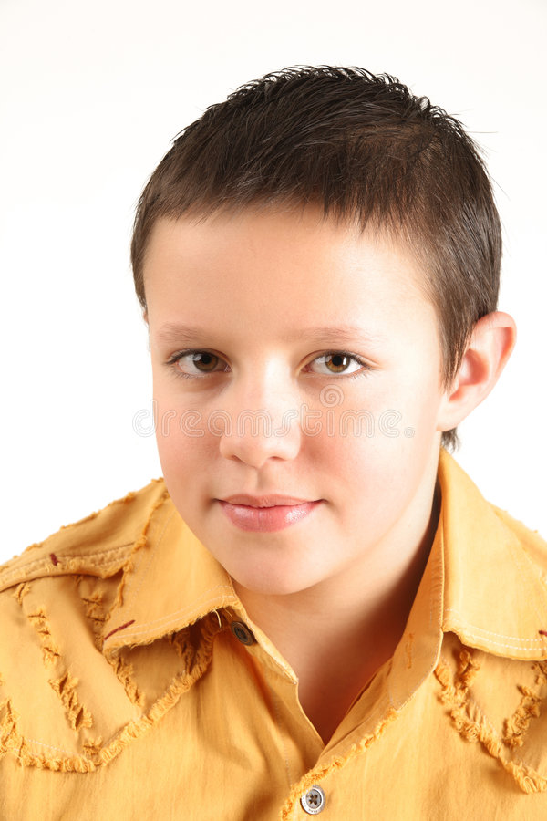Free Portrait Of A Boy Royalty Free Stock Photography - 7349537