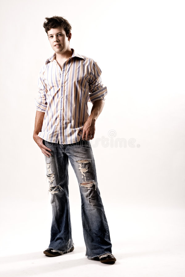 Free Portrait Of A Casual Male In Jeans Royalty Free Stock Photo - 5814005