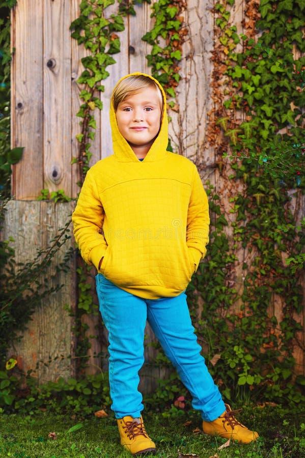 Free Portrait Of A Cute Little Boy Stock Image - 79723361