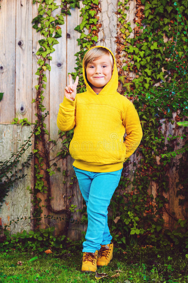 Free Portrait Of A Cute Little Boy Royalty Free Stock Image - 79724246