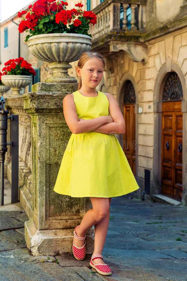 Free Portrait Of A Cute Little Girl Royalty Free Stock Photo - 74701205