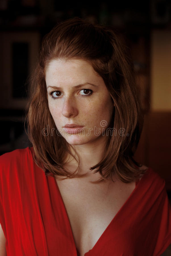 Free Portrait Of A Redhair Girl Royalty Free Stock Image - 13736966